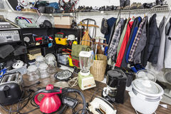 Garage Sale Royalty Free Stock Photos