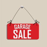 Garage sale vector illustratie