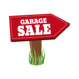 Garage Sale. Abstract garage sale object on a white background Stock Images