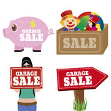 Garage Sale Royalty Free Stock Images