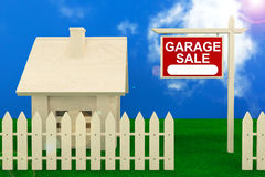 Garage Sale Banner Stock Photos