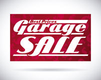 Garage sale  design Stock Photography