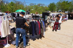 Garage sale Gesheft in Odessa Royalty Free Stock Images