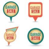 Garage sale labels Stock Images