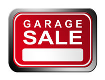 Garage sale plate Royalty Free Stock Images