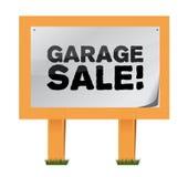 Garage sale sign. Illustration design over a white background Stock Photography