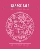Garage sale concept 3 Royalty Free Stock Photo