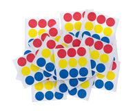 Garage Sale Stickers Group Of Sheets Stock Photography