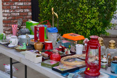 Garage sale yard sale royalty free stock image