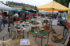 Garage sales Chartres Stock Image