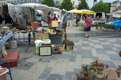 Garage sales Chartres Royalty Free Stock Image