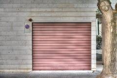 Garage shutter Royalty Free Stock Photos