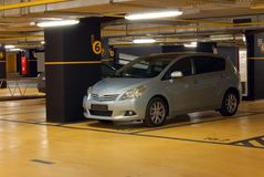 Garage souterrain Image stock