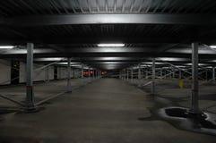 Garage Space. An empty street garage Royalty Free Stock Photos