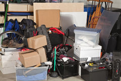 Garage Storage Royalty Free Stock Photography