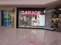 GARAGE STORE Royalty Free Stock Images