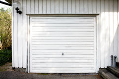 Garage-Tür Stockfotografie