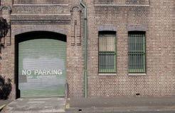 Garage-Türen Stockfotos