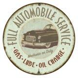 Garage Tin Sign Royalty Free Stock Image