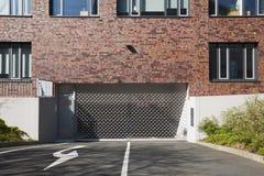 Garage-Tür Lizenzfreies Stockfoto