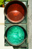 Garage traffic lights Royalty Free Stock Photos