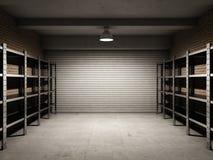 Garage vacío Fotos de archivo libres de regalías