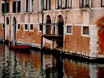 Garage a Venezia Immagine Stock