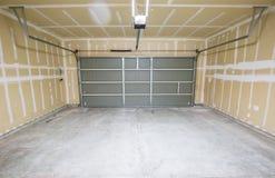 Garage vide Photo libre de droits