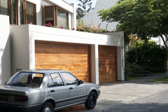 Garagedeur Stock Afbeeldingen