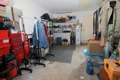 Garagelagring - 1 Arkivfoto