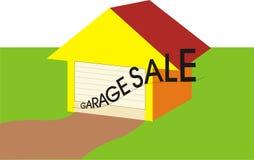 Garagem ilustração stock