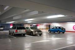 Garagem de estacionamento Foto de Stock Royalty Free
