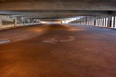 Garagem de estacionamento Fotografia de Stock