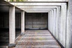 Garagem de estacionamento nova Imagem de Stock Royalty Free