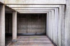 Garagem de estacionamento nova Imagem de Stock