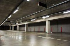 Garagem de estacionamento vazia Imagem de Stock