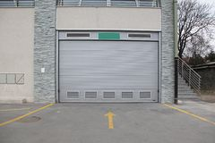Garagem do carro Imagem de Stock
