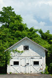 Garagem velha Fotos de Stock