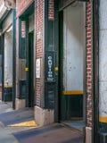 Garagen-Eingang Lizenzfreie Stockfotografie