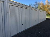 Garagens modernas e puras Imagem de Stock
