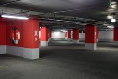 garageparkering Royaltyfria Bilder