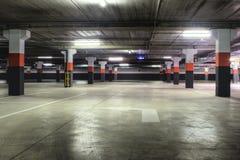 garageparkering Royaltyfri Bild