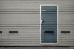Garagepoort als achtergrond Stock Foto