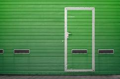 Garagepoort als achtergrond Royalty-vrije Stock Afbeeldingen