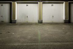 Garages Stock Images