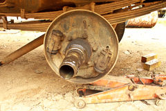 Garages and car repairing Royalty Free Stock Photos