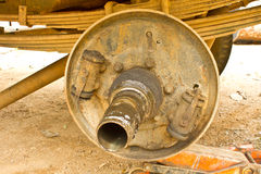 Garages and car repairing Stock Photos