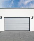 Garages driveway Stock Photos
