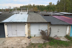 Garages, sheds Royalty Free Stock Photography