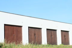 Garages Royalty Free Stock Images